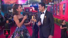 Carlos Rivera le reveló a Alejandra Espinoza su secreto para combatir los nervios al presentar los Latin GRAMMY