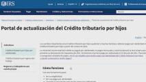 Revise si es elegible para el Crédito Tributario por Niño en un portal del IRS