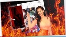 La silueta roja: El sexy video de Carla que no le gustó a su novio y que le costó la crítica del Pelón y El Feo