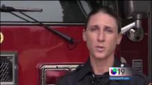 Mujer paramédico salvó la vida a oficial de CHP