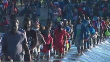 Aumenta el número de inmigrantes haitianos en la frontera