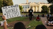 Familia de George Floyd conmemora un año de su muerte con una visita a la Casa Blanca y al Congreso