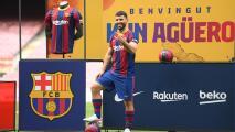 'Kun' Agüero es convocado por Barcelona ante Valencia