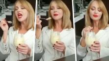 Critican a Gaby Spanic por su exagerada actuación en un comercial de helado