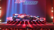 Ferrari presentó su espectacular auto para la Fórmula Uno