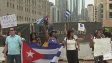 """""""El pueblo lleva 62 años bajo una tiranía"""", grupo de cubanos en Chicago protestará este sábado contra el régimen"""