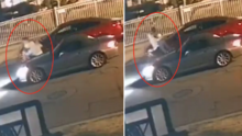 Mujer trata de escapar de auto en Bell Gardens, la policía investiga posible secuestro
