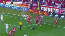 Alex Muyl pone medio gol y Tim Parker la manda a guardar, NY Red Bulls 2-0 Atlanta United