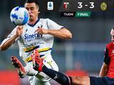 Espectacular empate entre el Genoa y el Hellas Verona