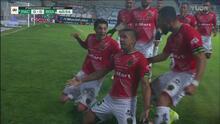 ¡Gol de Juárez! Victor Velazquez abre el marcador en Pachuca