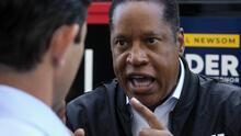 Larry Elder: el locutor republicano que podría ser gobernador si pierde Newsom ya habla de fraude