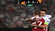 Arsenal sufre pero remonta y está en Octavos de Europa League