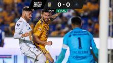 Resumen | Tigres y Pumas empatan sin goles en el 'Volcán'