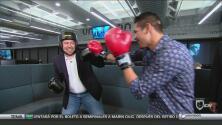 'Zurdo' Ramírez da clases de boxeo en Locura Deportiva