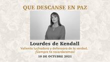 Fallece la locutora de radio Lourdes D' Kendall víctima de una enfermedad