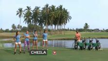 Las competidoras de RD Extrema se enfrentaron a su primera prueba de fuego jugando al golf