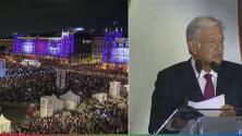 (VIDEO) AMLO se posiciona como el presidente de los más olvidados ante una inmensa multitud