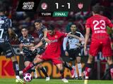 Goles y videos: Con un hombre menos, Toluca rescata apurado empate ante Necaxa