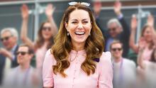 Al estilo mexicano: las fotos de Kate Middleton y su papá haciendo la ola en Wimbledon