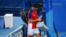 Djokovic 'regala' medalla de bronce a Australia en el dobles mixto