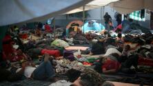 """""""No todos somos delincuentes"""" asegura uno de los migrantes que permanece en un albergue de México"""