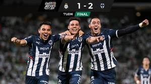 ¿Pero qué necesidad? Con drama Rayados se llevó triunfo ante Santos