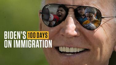 After 100 days, immigration activists want more fire from Biden