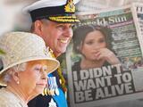 ¿Doble estándar? Apuntan contra la familia real por salir en defensa del príncipe Andrés y no de Meghan Markle