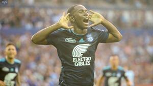 La MLS podría ser el destino de la sensación goleadora del Emelec y el fútbol ecuatoriano
