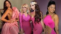 Ana Bárbara, Cristy Solís y Kim Flores, se visten de rosa para dar un mensaje en la lucha contra el cáncer de seno