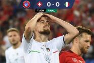 Resumen | Italia consigue histórico empate ante Suiza