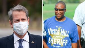 Brian Kemp suspende al alguacil del condado de Clayton, Victor Hill tras acusación federal