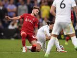 Terrible lesión del joven Harvey Elliiot con el Liverpool
