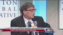 Bill Gates tomó agua extraída de excremento