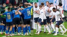¡Final inédita! Italia vs. Inglaterra se medirán por la Euro 2020
