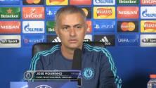 Mourinho se molesta con un periodista en la conferencia de prensa
