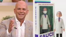 El Dr. Anthony Fauci ya tiene su figura de acción, ¿y el Dr. Juan para cuándo? Mira su reacción al imaginarlo