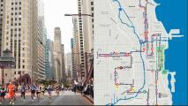 Estas son las rutas alternativas para evitar el caos este domingo por el Maratón de Chicago