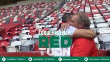 Sorpresiva visita en el entrenamiento de Toluca