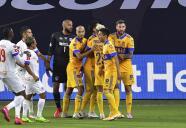 Portero de Olimpia encaró a Gignac tras el 1-0 de Tigres