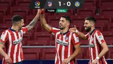 El Atlético de Madrid cierra el año como líder, pero sin Héctor Herrera