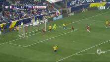 Goooolll!! Sloan Privat mete el balón y marca para French Guiana