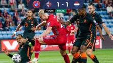 Resumen: Los Vikingos de Haaland le hacen frente a Holanda 1-1