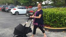 Lourdes aprende a usar el coche de su bebé, ¿cómo le fue?