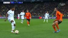 ¡Gol de Real Madrid! Kryvtsov la manda al fondo de su arco y ya gana la visita