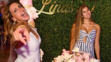 En pijama, Lili Estefan muestra cómo sobreviven flores del cumpleaños de Lina y cree que se puede hacer otra fiesta