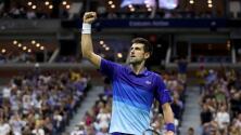 Djokovic superó a Brooksby y está en cuartos de final del US Open