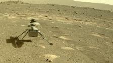 Misión histórica: El helicóptero Ingenuity llega a Marte y sobrevive a su primera noche helada