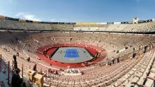 La Plaza México, lista para el  duelo entre Federer y Zverev