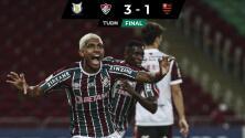 Resumen | Con doblete de Kennedy, Fluminense vence a Flamengo